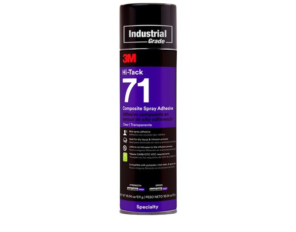 Clear 3M Adhesive 71 Spray