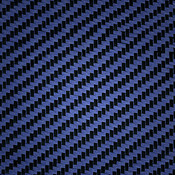 Carbon Fiber/Aramid Blue Swatch