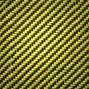 Carbon Fiber/Aramid Yellow Swatch