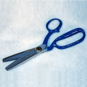 Blue Handled Aramid Fabric Scissors