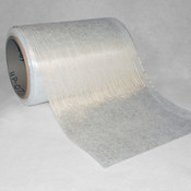 "Fiberglass ""Uni-Web"" Fabric Partially Unrolled"