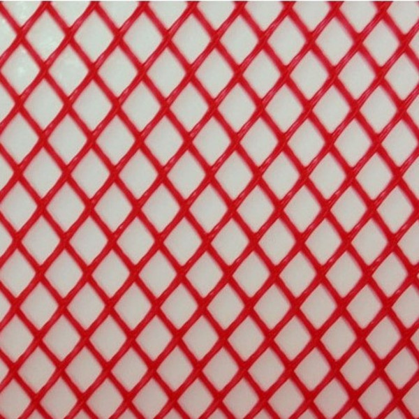 Close Up of Red Mesh