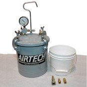 Airtech Reservoir bucket with polypropylene bucket and fittings