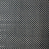 Close Up of Plain Weave Carbon Fiber Fabric