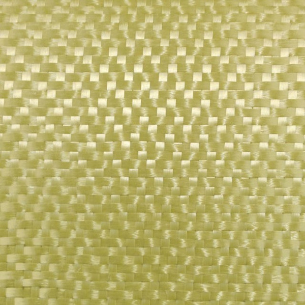 Close Up of Aramid Harness Satin Weave