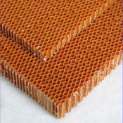 2 Sizes of Honeycomb Core stacked on each other