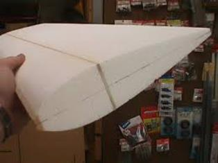 picture of a foam wing with skins